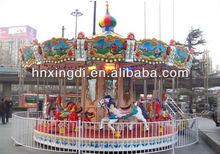 Popular parque de atracciones paseo para niños y adultos carrusel para la venta,
