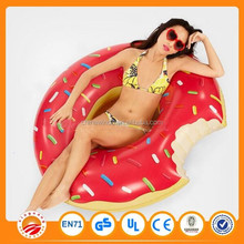 best price inflatable donut swim ring /donut inflatable for sale