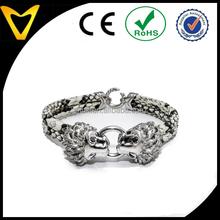 Vlink Jewelry Amazon hot sale 2015 handmade genuine python leather bracelet gift idea
