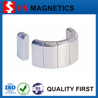 Super Strong Large Customized N35H Neodymium Magnet For Motor