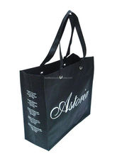 patent crocodile bags, oem & odm accepted non woven bag, organic printed black calico bag for promotion