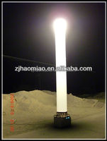 Patented high brightness inflatable metal halide lamps for emergency