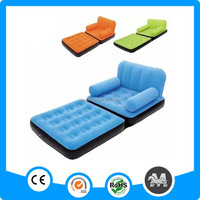 Mutil-colors Folding PVC Inflatable Sofa Bed for Kid