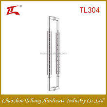silver color stainless steel sliding glass door handles