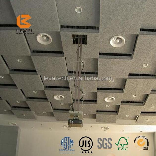 interior decoration soundproof wood wool acoustic ceiling. Black Bedroom Furniture Sets. Home Design Ideas