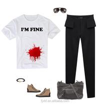 Custom Printing pant shirt for girls