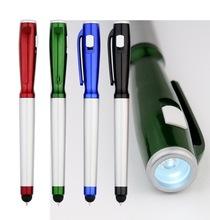 Fashion design promotional led torch light pen