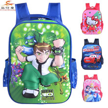 2015 new design Ben 10 3D school bag