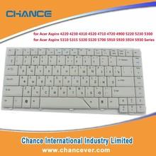colored laptop internal keyboard skin For laptop ACER AS4710G 4220 4310 4315 4330 4290 4720