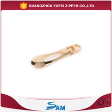 metal custom made zipper pull for clothing