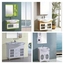 JM-3001 Jordan Style Small Hanging Glass Cabinet with Glass Doors