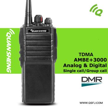 UHF/<span class=keywords><strong>VHF</strong></span> Band DMR Fm-zwei-wege-funkamateure Digital + Analog Kompatibel mit Mototrbo radio mit LCD