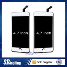 Spare parts mobile phone touch screen for iphone 6, mirror screen for iphone 6 alibaba china