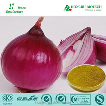 China Manufacturer Supply Free Sample Natural Herb Extracts High Quality 95% Onion Extract Quercetin