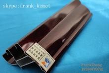 Color de madera perfil de aluminio kemet