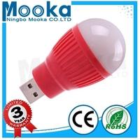 MBA01002 Hot Sale 1w USB Good Quality 5730 PC 180 Degree Led Bulb