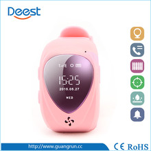 software mini gps tracker watch with two-way communication