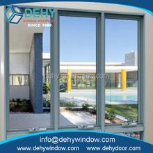 High quality thermal break aluminum sliding glass window for home