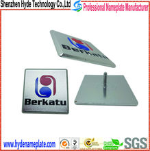 stereo' logo, metal brand stereo label, color stickers for sound box