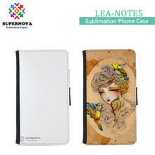 Blanks Sublimation Leather Mobile Phone Case for Samsung Galaxy Note 5