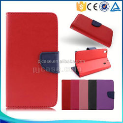Hot sale Mixed colors pu leather flip cover case for Asus ZenFone 5