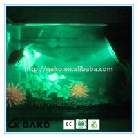 Green 36PCS 12v led light mini led spot light for fishing tank light