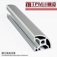various type of aluminum extrusion profile manufacturer
