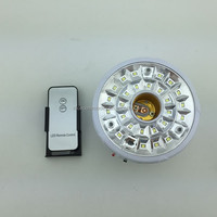 rechargeable LED emergency light with remote control