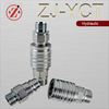 ZJ-YCT ISO5675 push and pull type hydraulic quick connect coupling