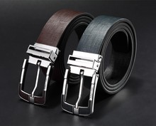 New Fashion Cowhide Leather Pin Buckle Belts Belt for man genuine leather