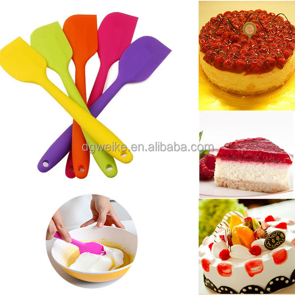 silicone spatula set cake decorating tools silicone