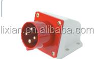 Ip44 industrial utensilio zócalo zócalo impermeable LX-514 / 524 CE 16 / 32A 3 P + E 380 - 415 V