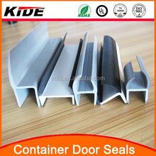 Cargo container door gasket plastic container seals