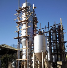 Wood biomass gasifier, wood chip saw dust biomass gasification power plant in Kenya 1MW