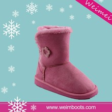 best selling high quality new design special long wool snow boots