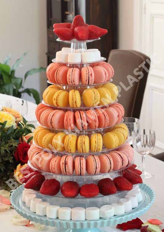 Image Result For Macaron Tower Stand For Cakes