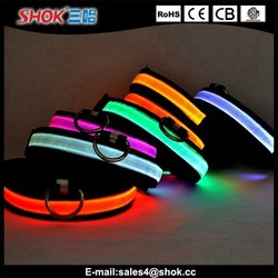 2015 new product LED flashing pet collar,LED pet shock collar