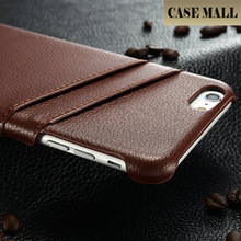 2015 Genuine Leather Case For iPhone 6 Plus Soft High Quality Phone Case