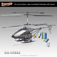 3.7V helicopter with HD camera gyro 3 channel Battery helicopter toys