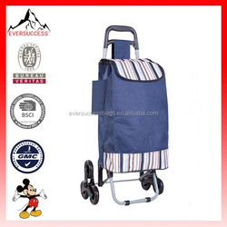 Foldable Rolling Wheeled Trolley Shopping Bag Grocery Cart Bag