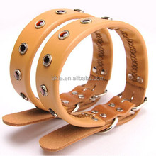 Fashion Pet Products Genuine Leather Dog Collar