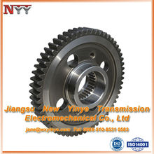 differential gear assembly for gearbox