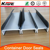 Shipping container door gasket container rubber door seals