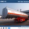 60 Tons Aluminum Tri Axle Oil Tanker Trailers For Gasoline