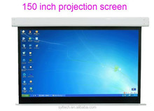 150 inch electric whiteboard and projection screen for school and educational facilty