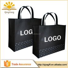 Wholesale promotional cheap reusable shopping non woven custom tote bag