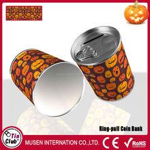 Happy Halloween!!! metal money box Halloween pumpkin