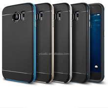 Hybrid Case, TPU Bumper Phone Case Cover For Samsung Galaxy S6 G9200