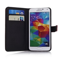 Book Style for Samsung galaxy S5 housing for android mobile phone