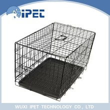 Ipet economic foldable metal solid display pet crate kennel